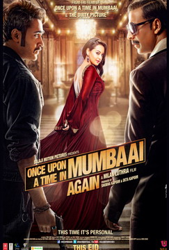 Once Upon Ay Time in Mumbai Dobaara poster